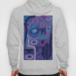 Blue Pozole Hoody