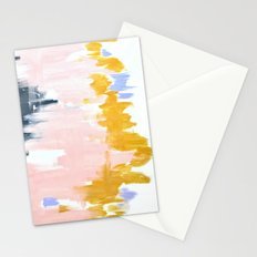 Multicolor spring abstract Stationery Cards