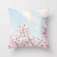 Spring melody Throw Pillow