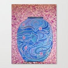 Oriental Vase Canvas Print