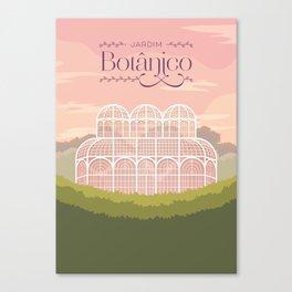 Curitiba - Jardim Botânico Canvas Print