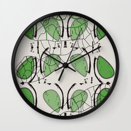 Nature forms Wall Clock