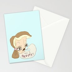 Am I Pretty? Stationery Cards