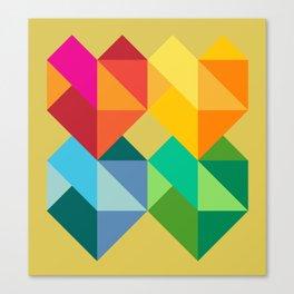Multiple Hearts Canvas Print
