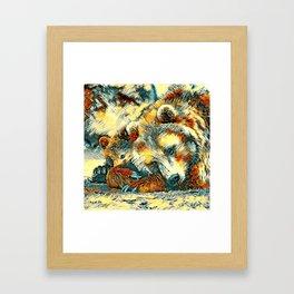 AnimalArt_Bear_20170602_by_JAMColorsSpecial Framed Art Print