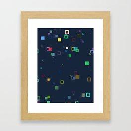 Scatter N°1 Framed Art Print