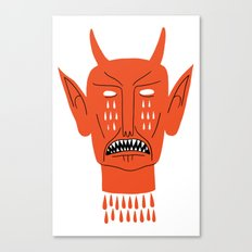 Devil's Head Canvas Print