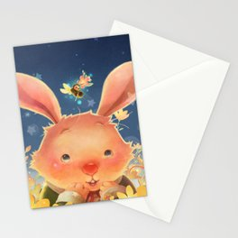 The Whispering Rabbit Stationery Cards