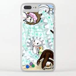 Unmaking the Bed Clear iPhone Case