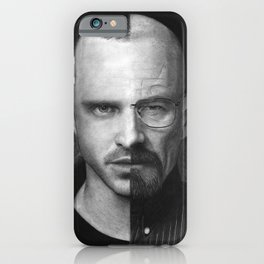 Jesse White/Walter Pinkman iPhone Case