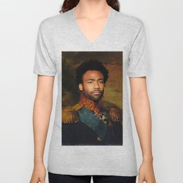 Childish Gambino Classical Regal General Painting Unisex V-Neck