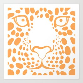 TIGER--FACE Art Print