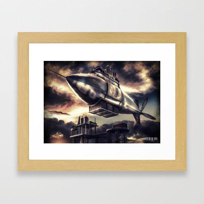 Poster - Airship Framed Art Print