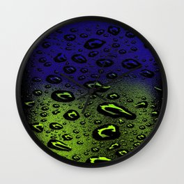 Night And Day Dew Wall Clock
