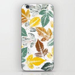 Chic autumn iPhone Skin