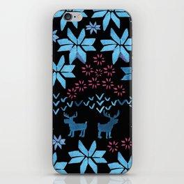 Christmas Fair Isle iPhone Skin