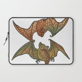 Colorful Belcher Mosaic Bats Laptop Sleeve