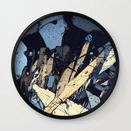 Graphic minerals Wall Clock