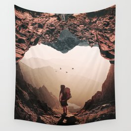 Heart Sigh Wall Tapestry