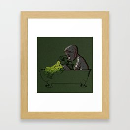 No Use in Loving the Dying Framed Art Print