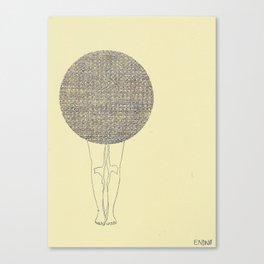 ballad legs Canvas Print