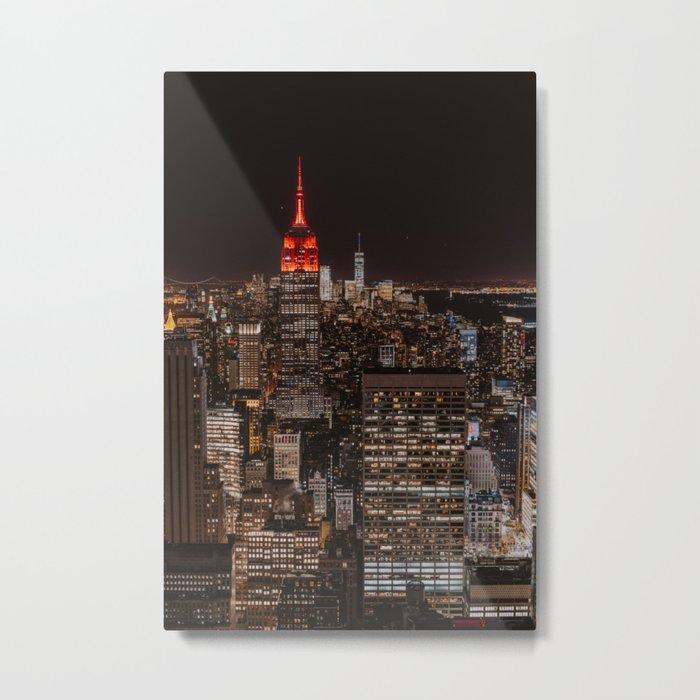 New York NY Metal Print