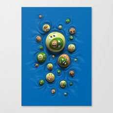 Emoticontagious Canvas Print