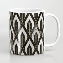 Art Deco Marble Pattern Coffee Mug
