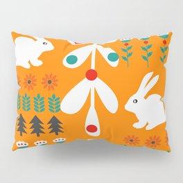 Sweet Christmas bunnies Pillow Sham