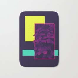 Neon Bush #society6 #retro Bath Mat
