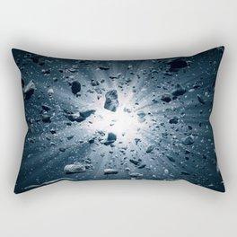 Big Bang explosion in space Rectangular Pillow