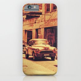 Havana Red Convoy iPhone Case