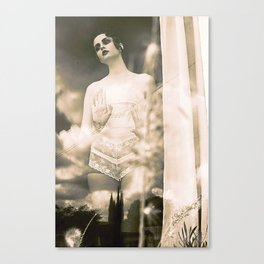 Silent Film Canvas Print