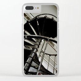 Iron Staircase Clear iPhone Case