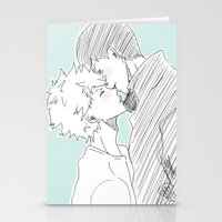haikyuu Stationery Cards featuring Kagehina Haikyuu!! by Pruoviare