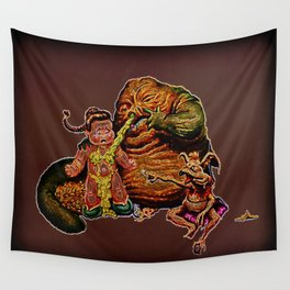 Jabba The Snot Wall Tapestry