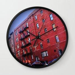 New York City Buildings NYC Wall Clock