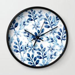 Watercolor Floral VIII Wall Clock