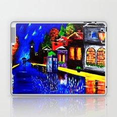 Tardis Phone Both Starry Night Laptop & iPad Skin