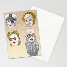 A Series of Unfortunate Events' Count Olaf Stationery Cards