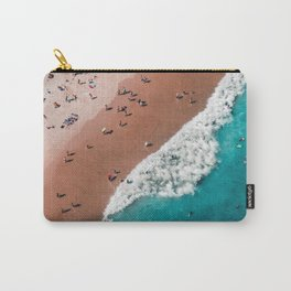 Surfers Surfing Bondi Beach Carry-All Pouch