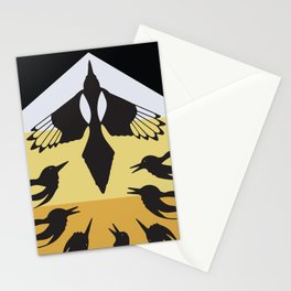 American Native Pattern No. 193 Stationery Cards