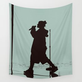 BILLIE LIVE SILHOUETTE Wall Tapestry