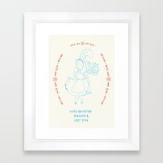 First steps Framed Art Print