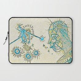 Seeing (Blue Detail) Laptop Sleeve