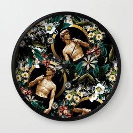 Michelangelo Buonarroti - David Wall Clock