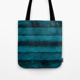 Vintage Blau Tote Bag
