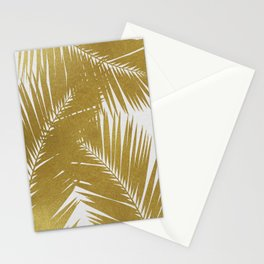 Palm Leaf Gold III Stationery Cards