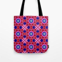 Floral fantasy pattern design Tote Bag