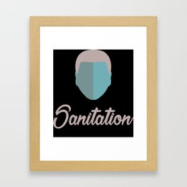 Sanitation Framed Art Print
